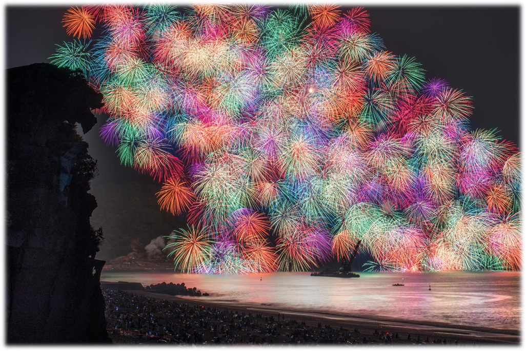 熊野花火②